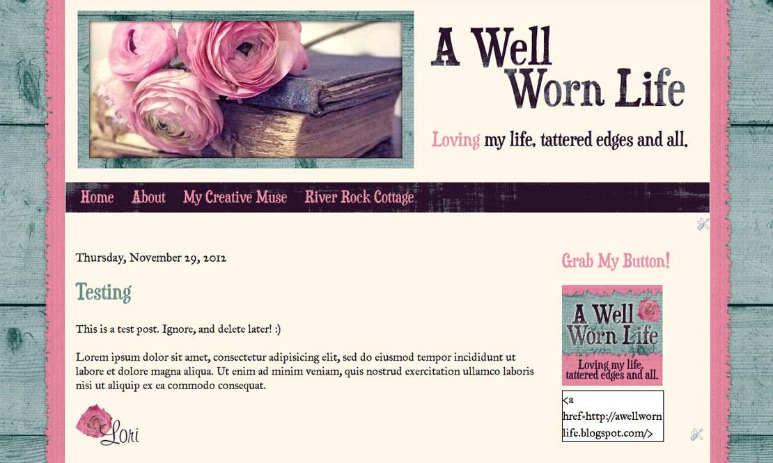 A Well Worn Life